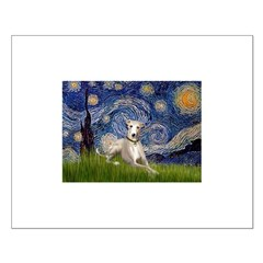 Starry Night Whippet Posters