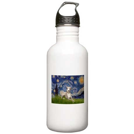 Starry Night Whippet Stainless Water Bottle 1.0L