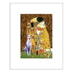 Kiss & Whippet Small Poster
