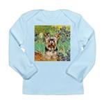 IRISES / Yorkie (17) Long Sleeve Infant T-Shirt