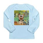 IRISES / Yorkie (17) Long Sleeve Infant T-Shirt