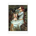 Ophelia's Yorkie (17) Mini Poster Print