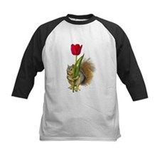 Squirrel Red Tulip Tee
