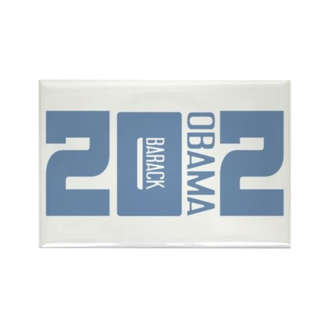 Barack Obama 2012 Rectangle Magnet