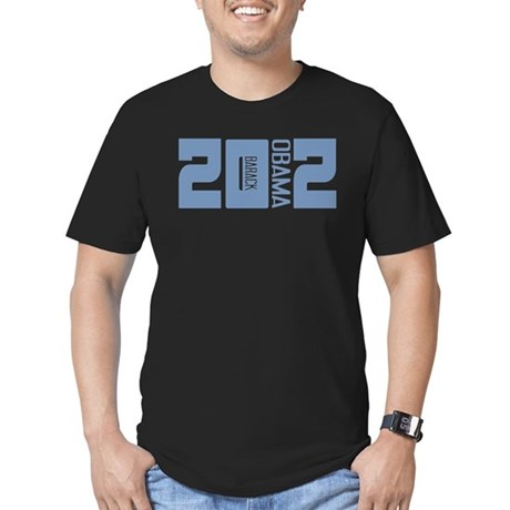 Barack Obama 2012 Men's Fitted T-Shirt (dark)