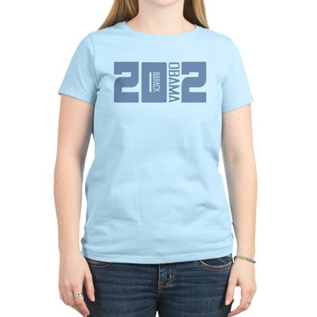 Barack Obama 2012 Women's Light T-Shirt