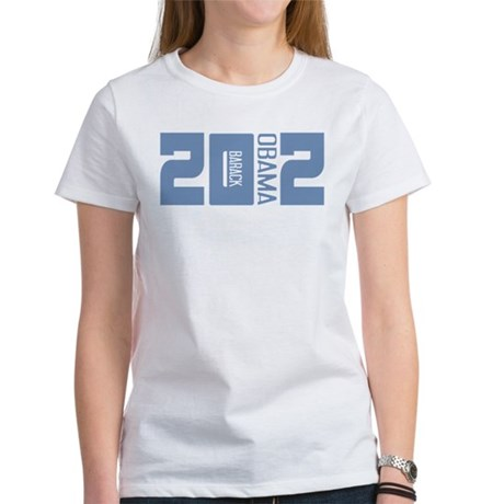 Barack Obama 2012 Women's T-Shirt