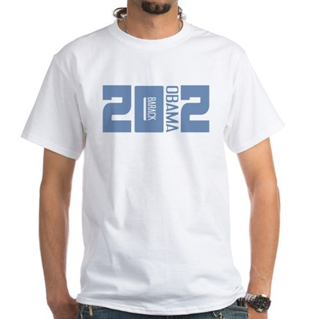 Barack Obama 2012 White T-Shirt