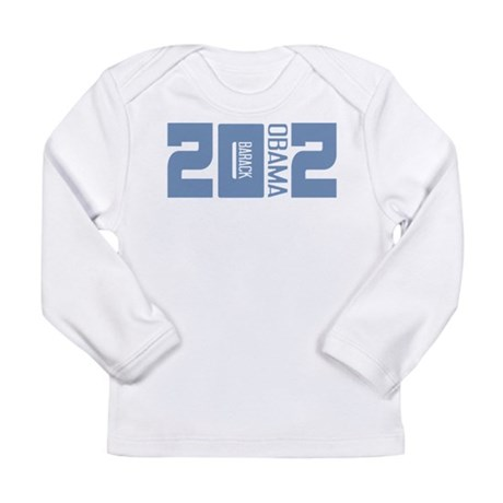 Barack Obama 2012 Long Sleeve Infant T-Shirt