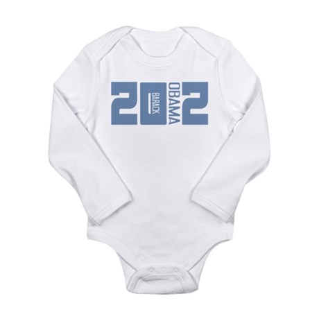 Barack Obama 2012 Long Sleeve Infant Bodysuit