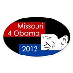 Missouri 4 Obama 2012 bumper sticker