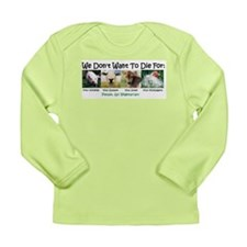 Animal Voices Long Sleeve Infant T-Shirt