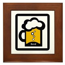 Bend Beer Framed Tile