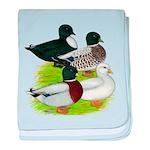 Call Duck Quartet baby blanket