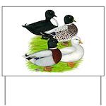 Call Duck Quartet Yard Sign