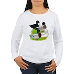 Call Duck Quartet Women's Long Sleeve T-Shirt