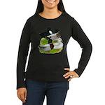 Call Duck Quartet Women's Long Sleeve Dark T-Shirt