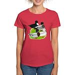 Call Duck Quartet Women's Dark T-Shirt