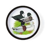 Call Duck Quartet Wall Clock