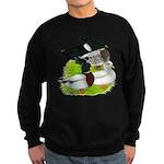 Call Duck Quartet Sweatshirt (dark)