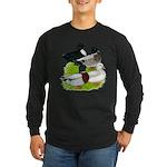 Call Duck Quartet Long Sleeve Dark T-Shirt