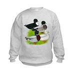 Call Duck Quartet Kids Sweatshirt