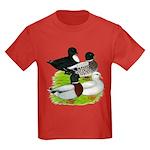 Call Duck Quartet Kids Dark T-Shirt