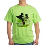 Call Duck Quartet Green T-Shirt