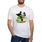 Call Duck Quartet Fitted T-Shirt