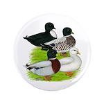 """Call Duck Quartet 3.5"""" Button (100 pack)"""