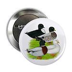 """Call Duck Quartet 2.25"""" Button (10 pack)"""