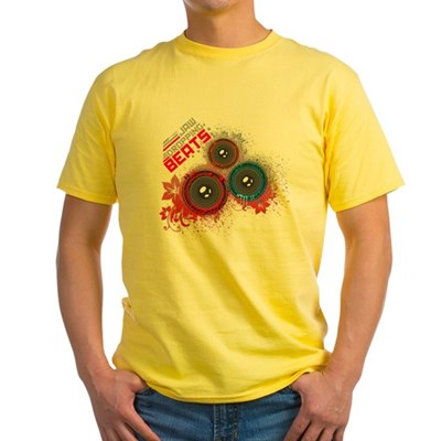 Jaw Dropping Beats Yellow T-Shirt