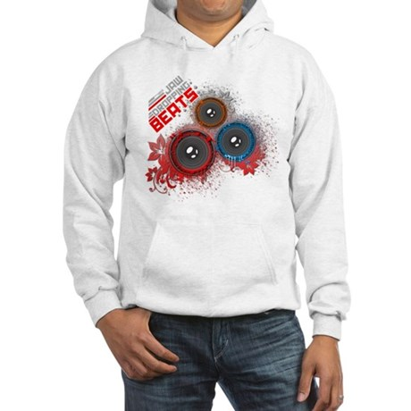 Jaw Dropping Beats Hooded Sweatshirt