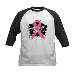 Fighting Back Breast Cancer Kids Baseball Jersey