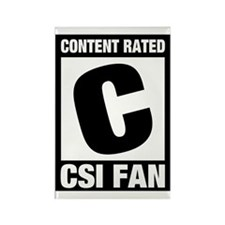 CSI Fan Rectangle Magnet