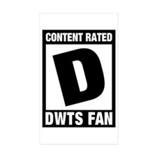 DWTS Fan Decal