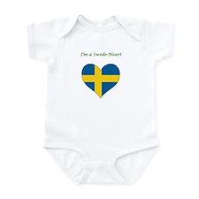 I'm a SwedeHeart Infant Bodysuit