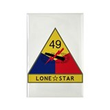 Lone Star Rectangle Magnet (10 pack)