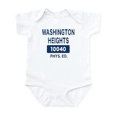 WASHINGTON HEIGHTS Phys. Ed. Infant Bodysuit