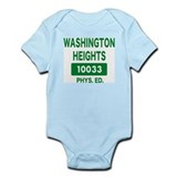 WASHINGTON HEIGHTS Phys. Ed. Infant Bodysuit