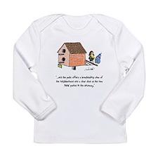 Flipping The Birdhouse Infant Long Sleeve T-Shirt