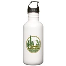 Quileute Wolf Refuge Stainless Water Bottle 1.0L