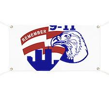 9-11 American Eagle Banner