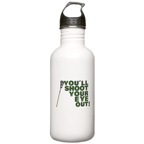 Lacrosse Lax Stainless Water Bottle 1.0L