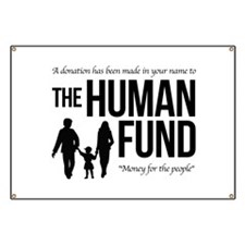 The Human Fund Seinfield Banner