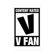 V Fan Decal