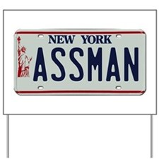 Seinfield Assman Yard Sign