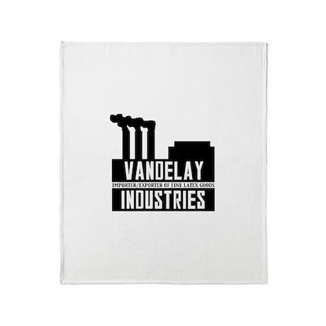 Vandelay Industries Seinfield Throw Blanket