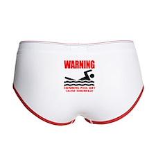 Warning Swimming Pool Shrinkage Seinfield Women's