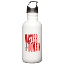 Master of My Domain Seinfield Water Bottle